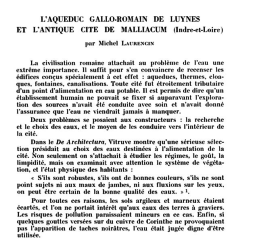 - L'aqueduc gallo-romain de Luynes
